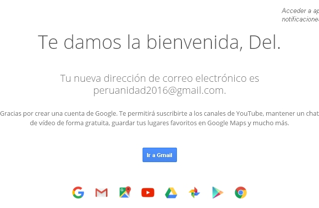 Creando un correo electrónico gratis Gmail