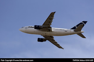 AVIÓN AIRBUS A310 YR-LCA