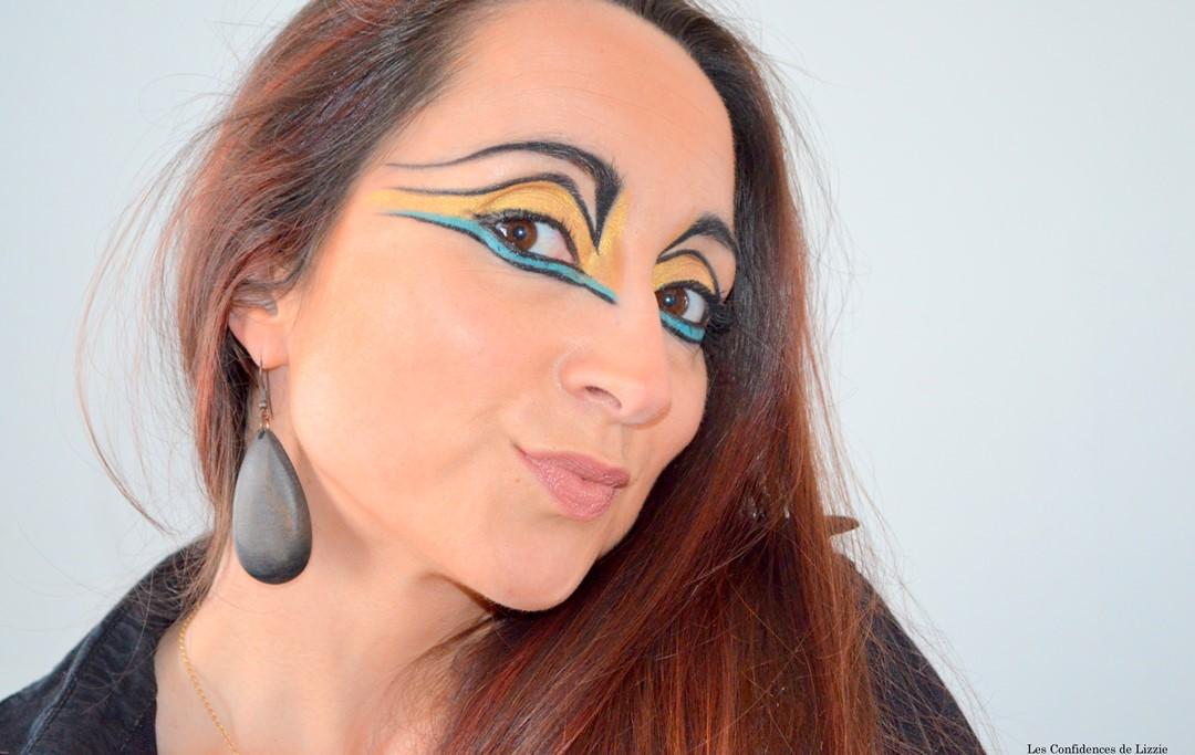 Maquillage créatif - maquillage indienne d'Amérique - idée de maquillage ethnique