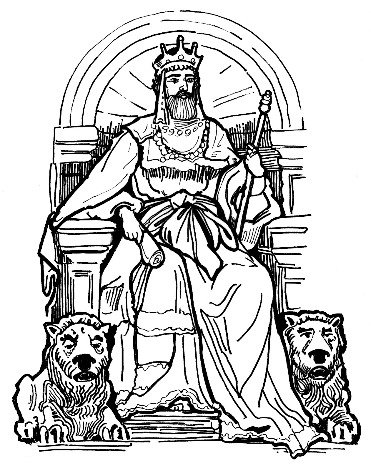 oh david coloring pages - photo #20