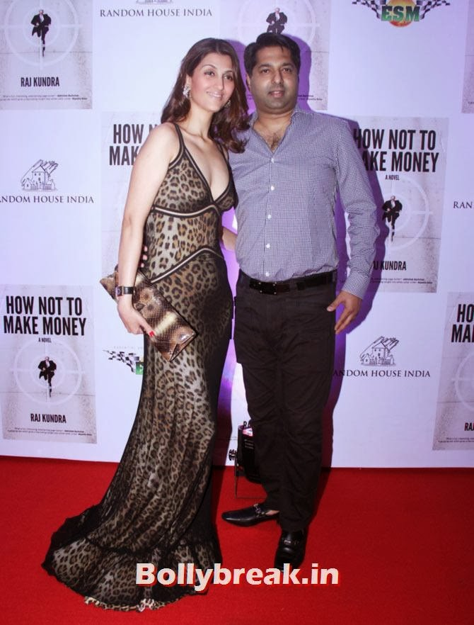 Riddhima Kapoor Sahani and Bharat Sahni, Shilpa Shetty - How not to make Money Bash
