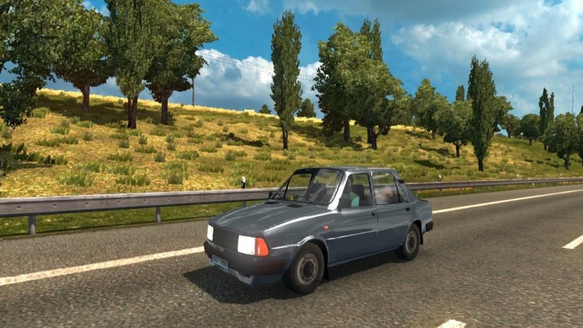 Skoda 120 Traffic Car