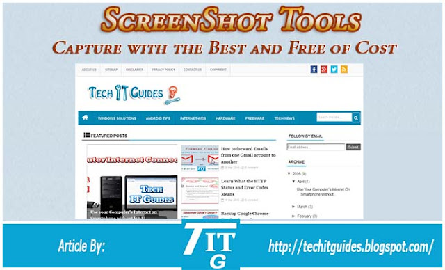 Best Screenshot Capturing Tools for Free