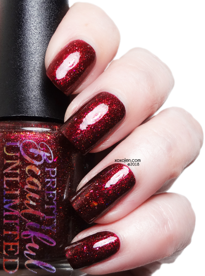 xoxoJen's swatch of Pretty Beautiful Unlimited Vengeance