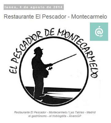 Lo + leído en el troblogdita - enero 2016 - ÁlvaroGP - Álvaro García - Restaurante El Pescador - Motecarmelo