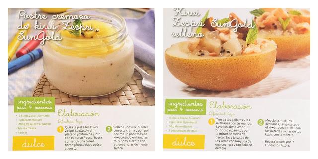 recetas-faciles-kiwi-niños-taller-cocina-sungold