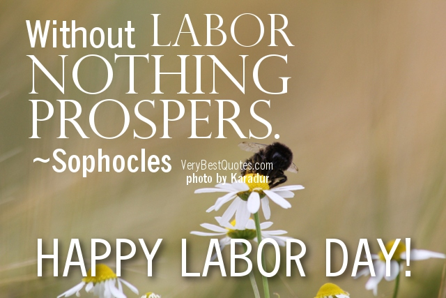 greeting cards of labor day 2016