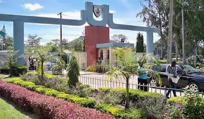 University of jos entrance gate, bauchi road campus