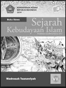 Buku Guru Dan Buku Siswa  Kurikulum 2013 Sejarah Kebudayaan Islam (SKI) MTs