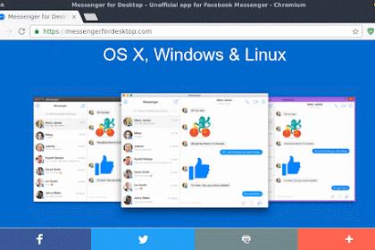 Cara Install Facebook Messenger di GNU/Linux