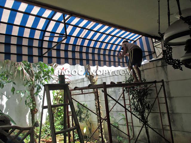 tukang canopy awning tangerang