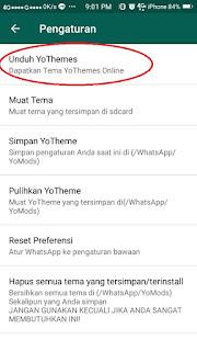 Cara Mudah ubah Tema Whataspp 4