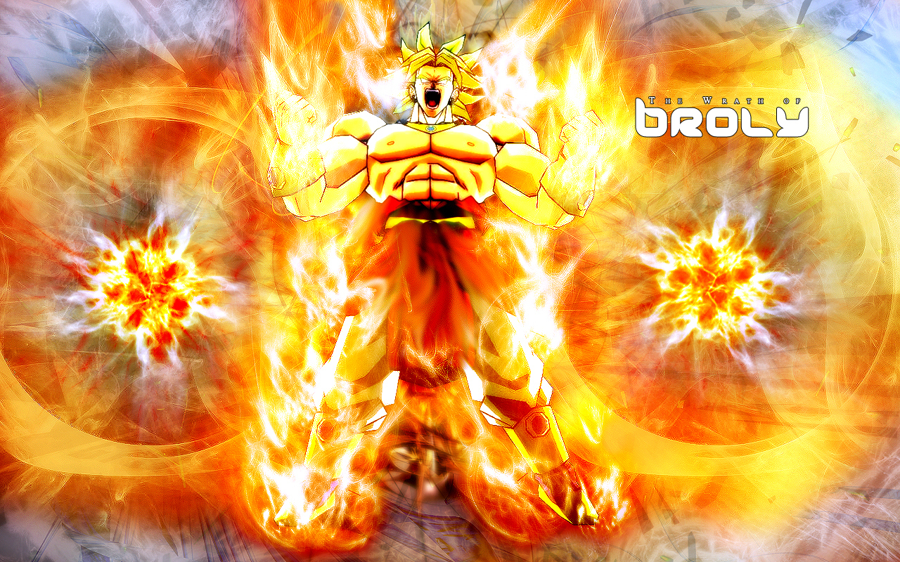 Dragon Ball Z Wallpaper Broly Vs Goku