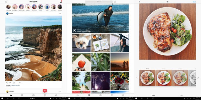 How to upload your photos from PC to Instagram