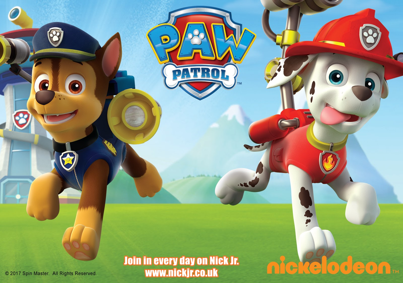 NickALive!: Meet & Greet PAW Patrol Stars Chase And Marshall At Kent ...