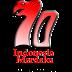 Maskot 70 Tahun IndonesIa Merdeka