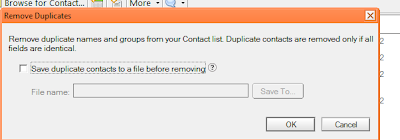 Duplicate Contacts Backup