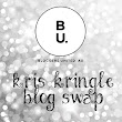 Corsha's Corner: Bloggers United Kris Kringle Swap