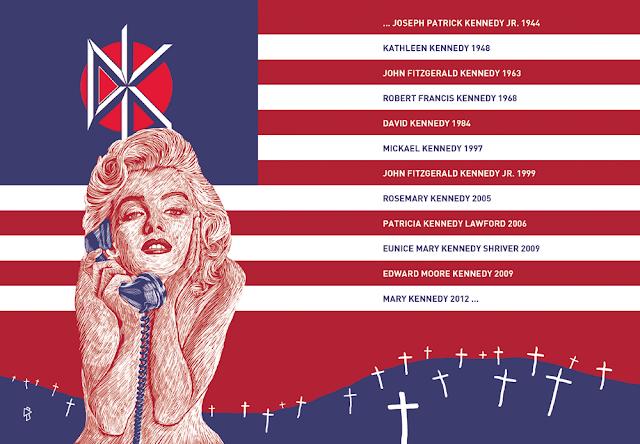 Gwen Tomahawk Dead Kennedys Illustration Marilyn Monroe