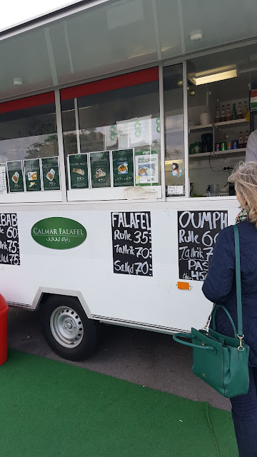 Calmar Falafel foodtruck - Rörelse för djurrätt