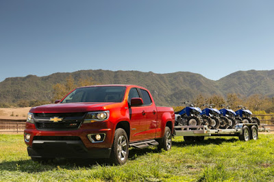 Midsize Chevrolet Colorado 8-Speed V6 Will Be Available Later This Year
