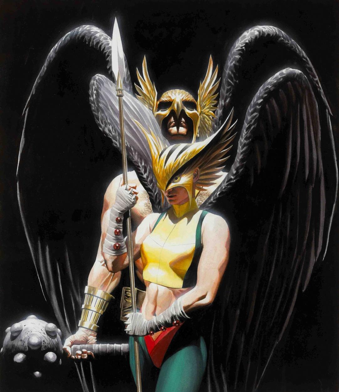 Alex Ross Hawkman Odin's Rave...