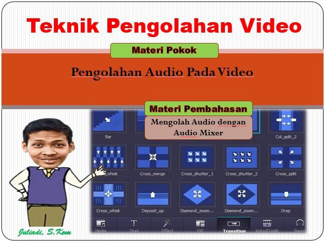 Penjelasan Audio dengan Audio Mixer Pada Adobe Premiere