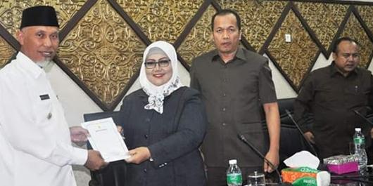 Wako Tanggapi 4 Ranperda Inisiatif DPRD Kota Padang