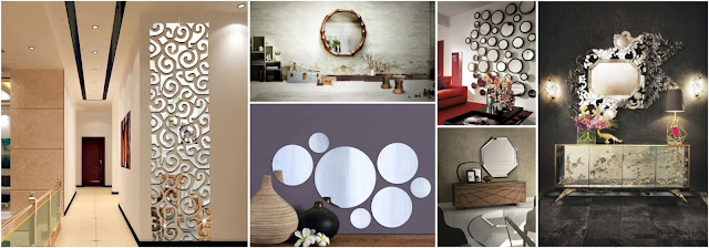 Latest Models Of Distinctive Mirrors For Home Decorations