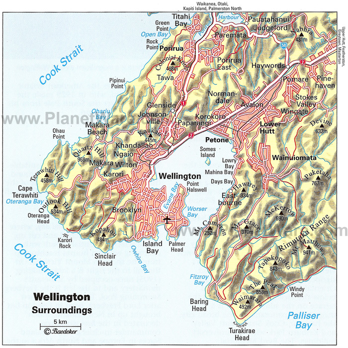 map wellington