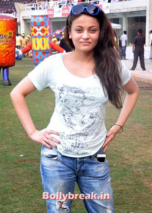 Sneha Ullal, Trisha & other South Actresses at CCL Season 4 2014
