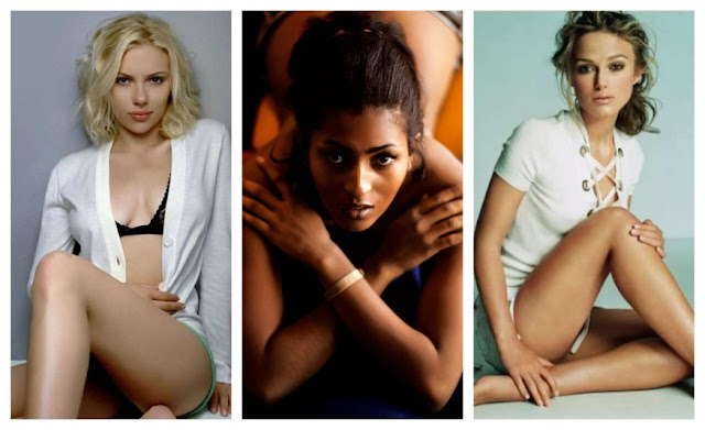 Top 20, Pam Grier, Keira Knightley, Scarlet Johansson, Hollywood beauties, actresses