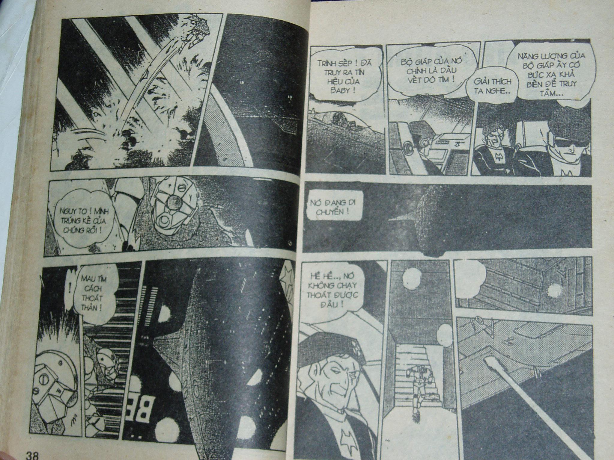 Siêu nhân Locke vol 16 trang 18