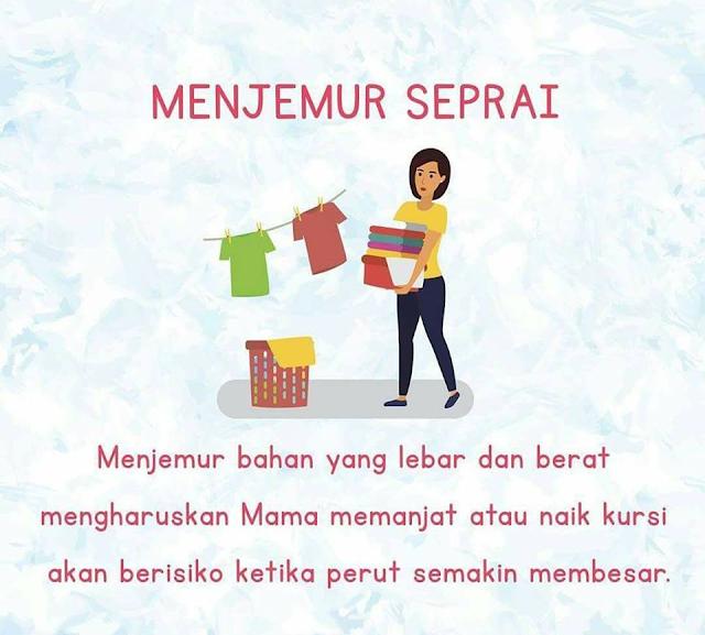 4 Aktivitas Rumah yang Sebaiknya Jangan Dilakukan oleh Ibu Hamil