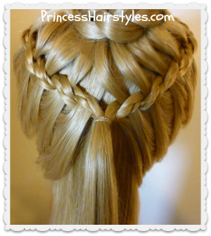 Gorgeous half-up formal hairstyle