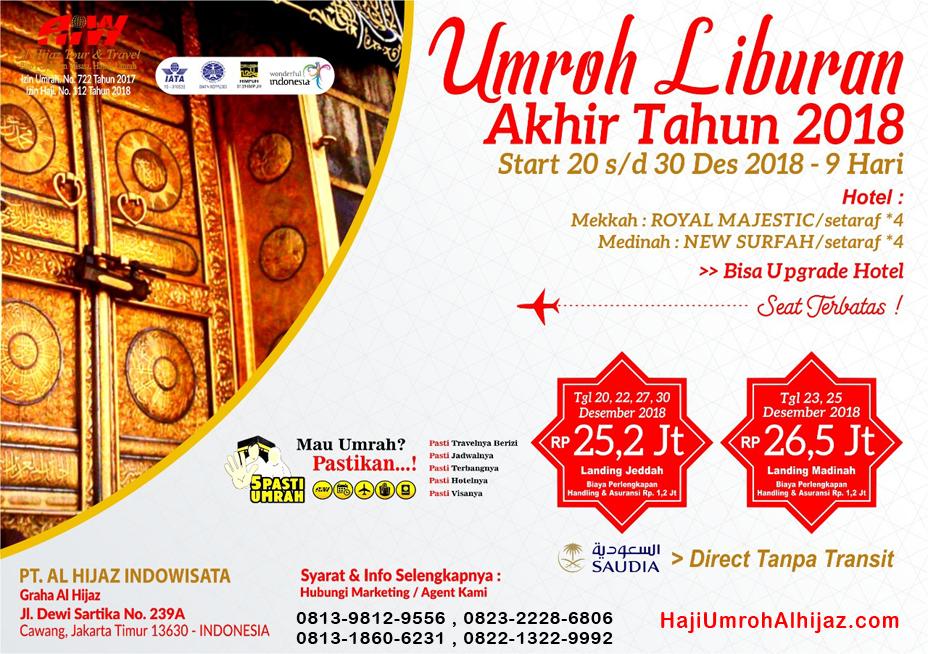 Travel Umroh Liburan Alhijaz Indowisata