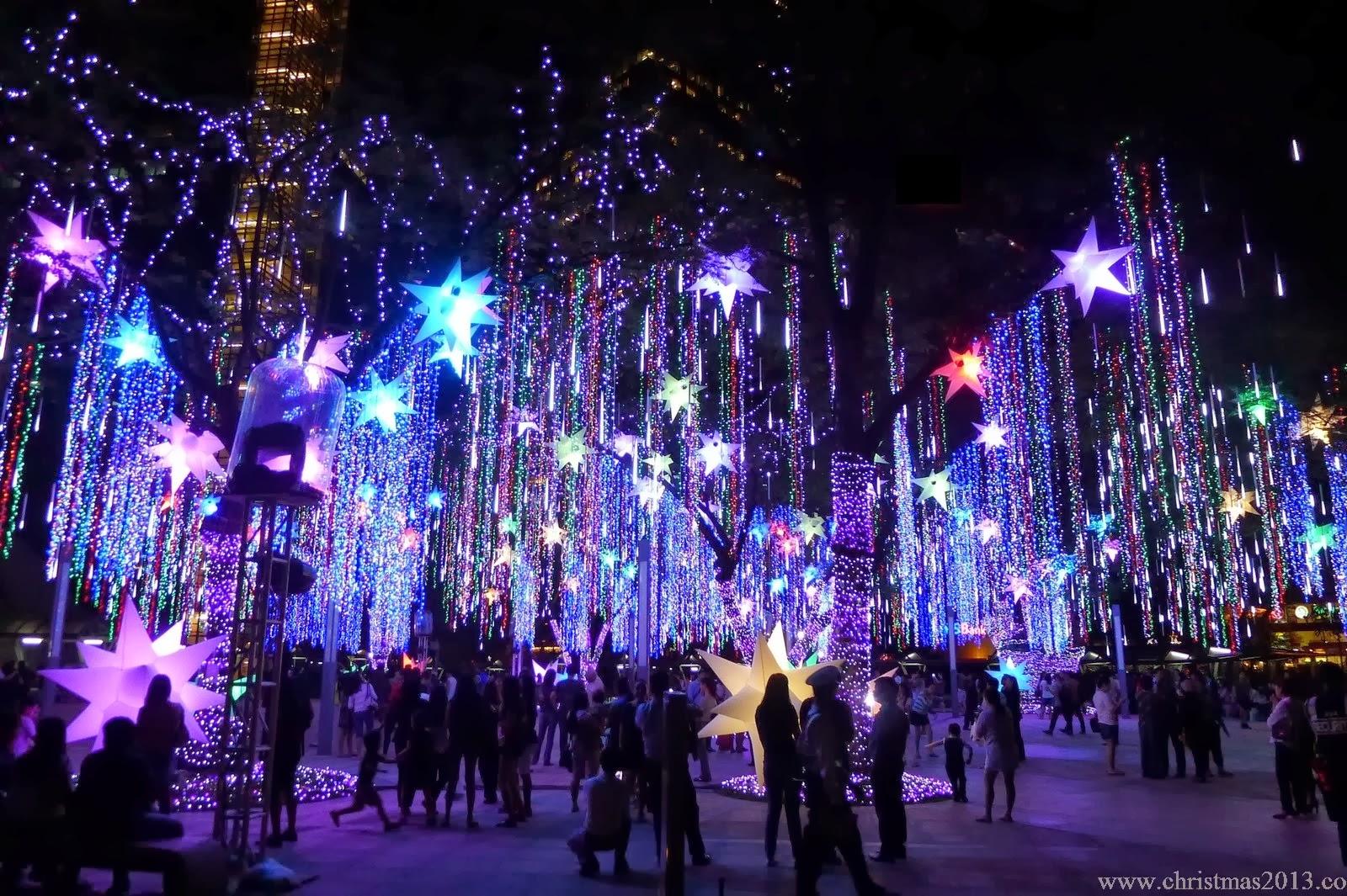 Outside Tree Lights Christmas