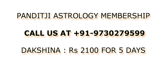 No Free Trial For Next 10 Days...Membership Open For Panditji Astrology...Limited Members Only