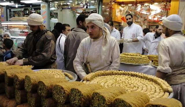 عادات وتقاليد شهر رمضان المبارك في سورية