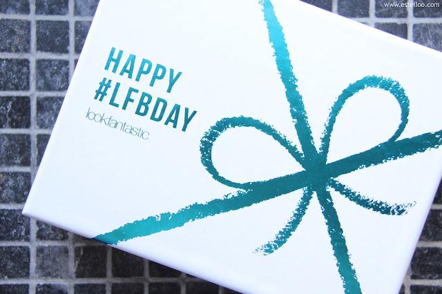 Look Fantastic Box, septembre 2016 - Happy BDay !