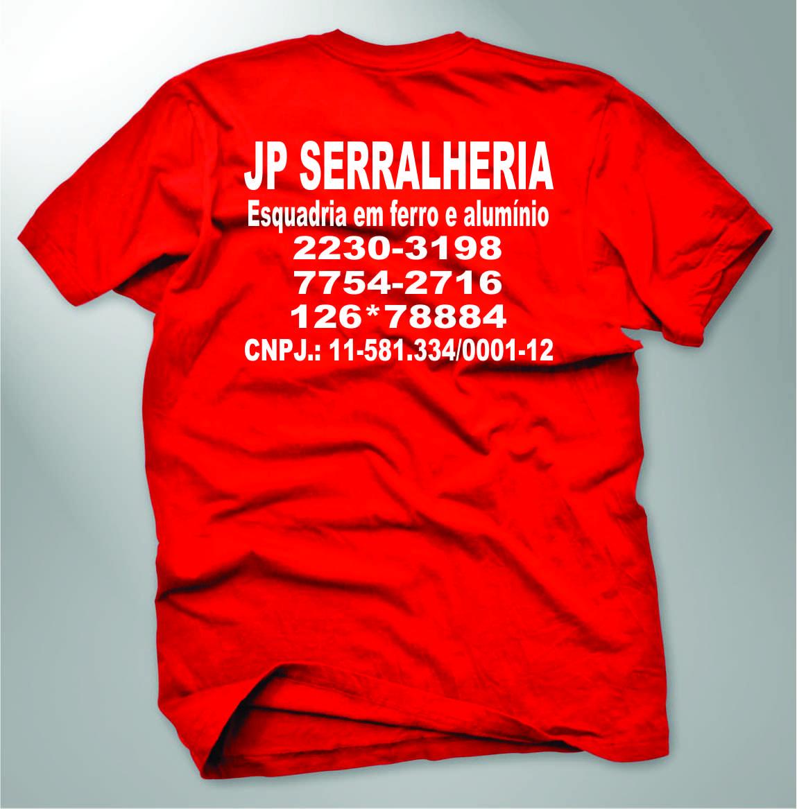 70060c1f82 camisa de algodão da cor vermelha com a logo estampada em branca
