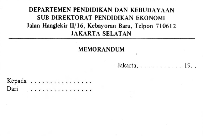 contoh-memorandum