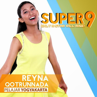 reyna qotrunnada rising star indonesia super 9