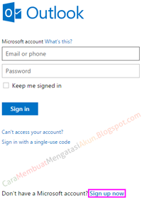 daftar email hotmail