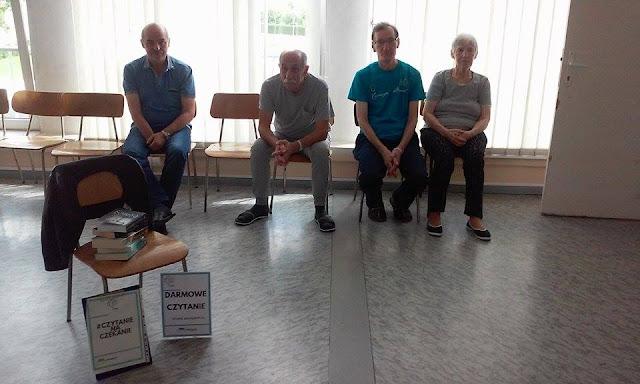#4 Czytanie w szpitalu miejskim w Elblągu + książkowe historie pacjentów