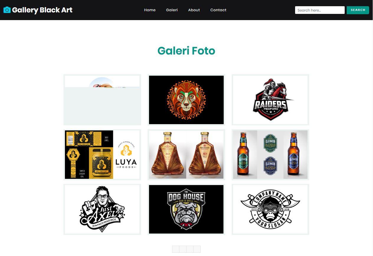 Website Galeri By ROMOCODE