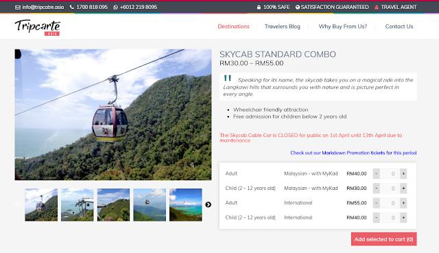SkyCab Combo Basic