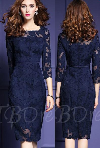 https://www.tbdress.com/product/Half-Sleeve-Solid-Color-Lace-Womens-Sheath-Dress-12751582.html