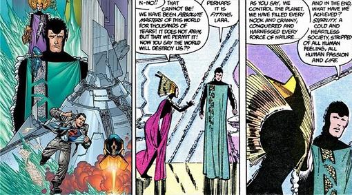 El Krypton de los cómics