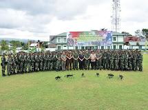 Pangdam XIII/Mdk sambut Pasukan Purna Tugas Operasi Pengamanan Pulau Terluar